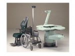 Clone of Meccanottica 9980 Left-handed Refraction Unit with Wheel Chair Reception