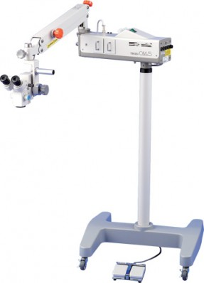 Takagi OM-5 Operating Microscope, Floor Standing