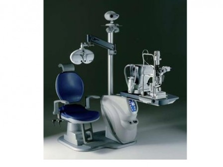 Meccanottica PURE CL Refraction Unit with Chair