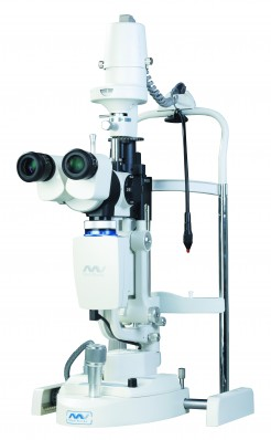 MediWorks S390L Motorized Focusing Digital Slit Lamp Microscope