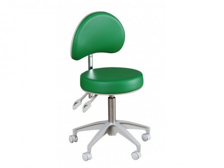 Murray HADV-GN-S Advance Round Stool with Backrest