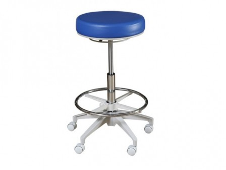 Murray HADV-NB Advance Round Stool without Backrest, Adjustable High Cylinder and Foot Ring