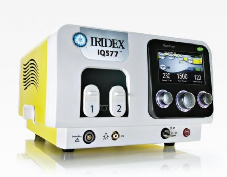 IRIDEX IQ 577™ True Yellow Laser System
