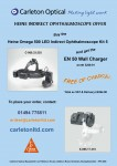 HEINE Indirect Ophthalmoscope Promotional Offer