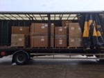 Another large consignment of equipment from Takagi being delivered